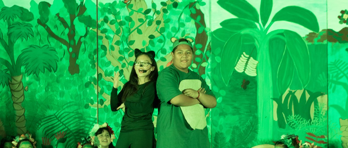 Faylane students shine on stage during their performance of Disney's Jungle Book!