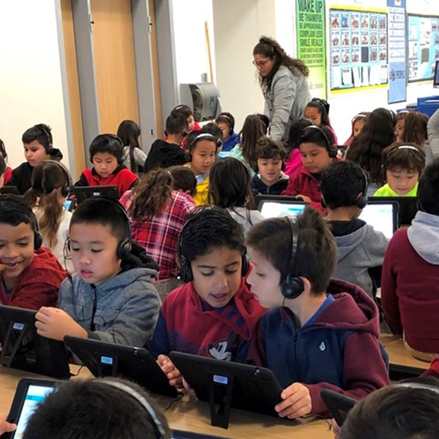 Hour of Code with 2nd Grade