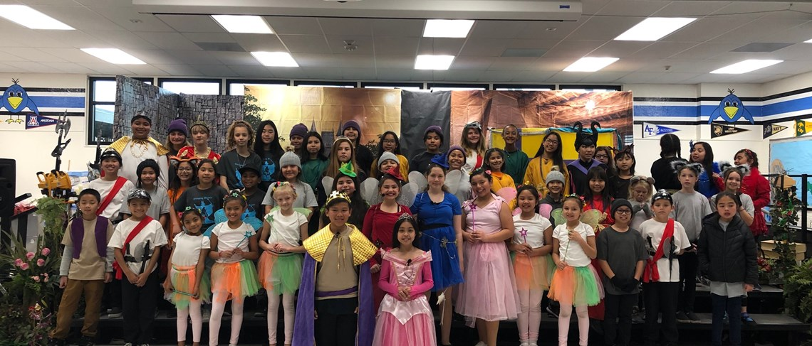 We're very proud of our talented cast in Faylane's production of Disney's Sleeping Beauty Kids!